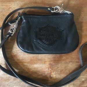 Harley Davidson Crossbody Leather Purse